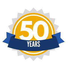 50 Years Milestone Anniversary